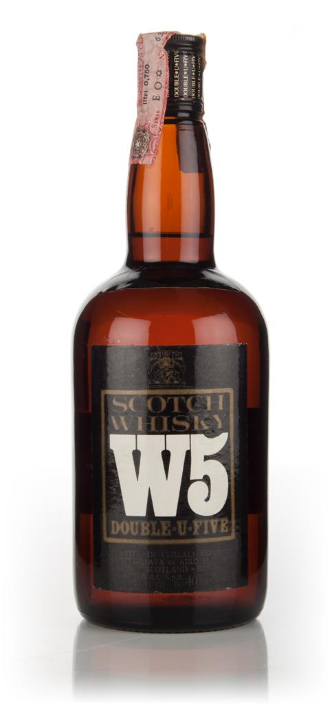 W5 Blended Scotch Whisky - 1970s Blended Whisky