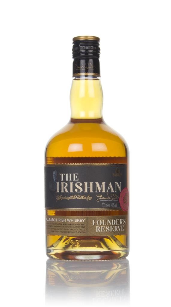 The Irishman Founders Reserve Blended Whiskey