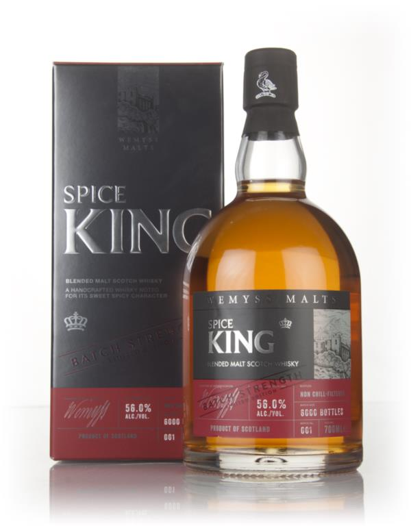 Spice King Batch Strength (Wemyss Malts) Blended Malt Whisky