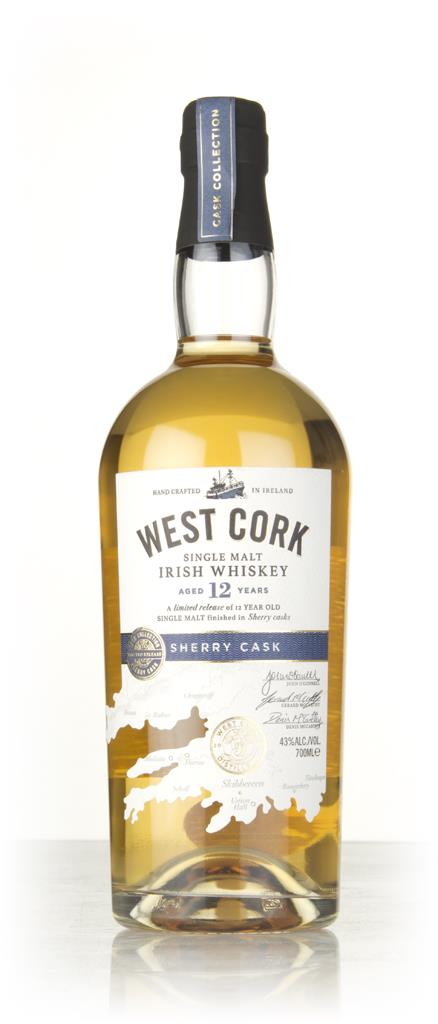 West Cork 12 Year Old Sherry Cask Single Malt Whiskey