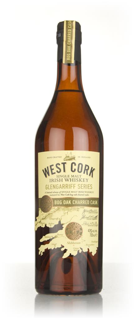 West Cork Glengarriff Series - Bog Oak Charred Cask Finish Single Malt Whiskey