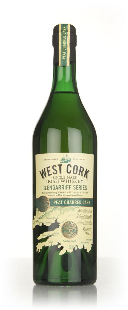West Cork Glengarriff Series - Peat Charred Cask Finish Single Malt Whiskey