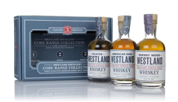 Westland Core Range Collection (3 x 20cl) Single Malt Whiskey