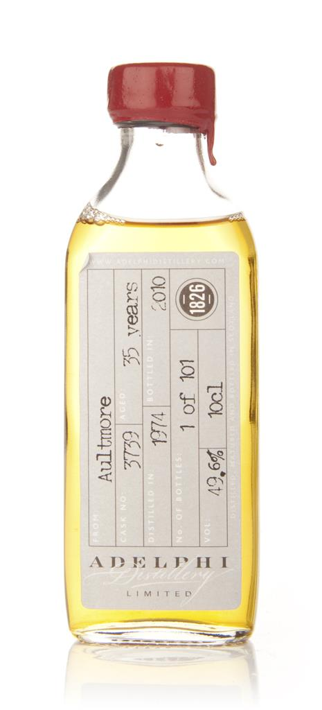 Aultmore 35 Year Old 1974 (Adelphi) 10cl Single Malt Whisky