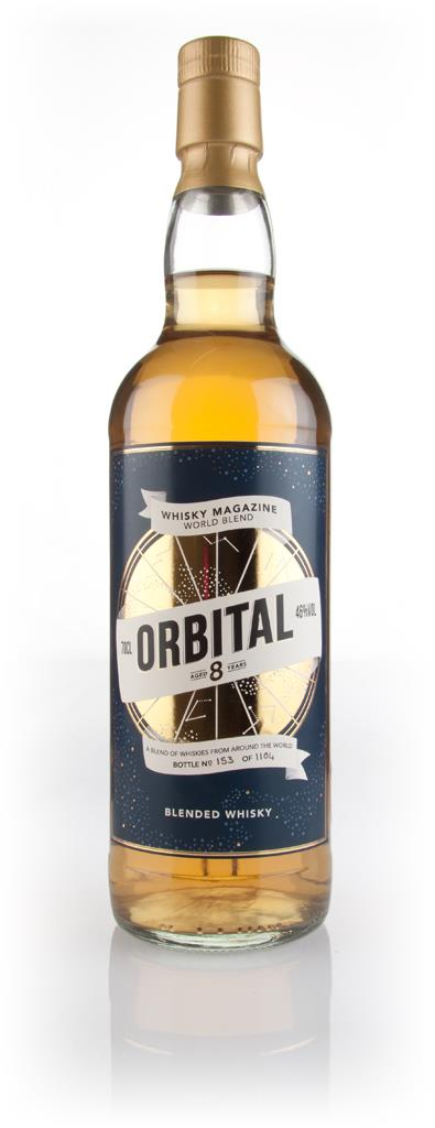 Orbital 8 Year Old Whisky Magazine World Blend Blended Whisky