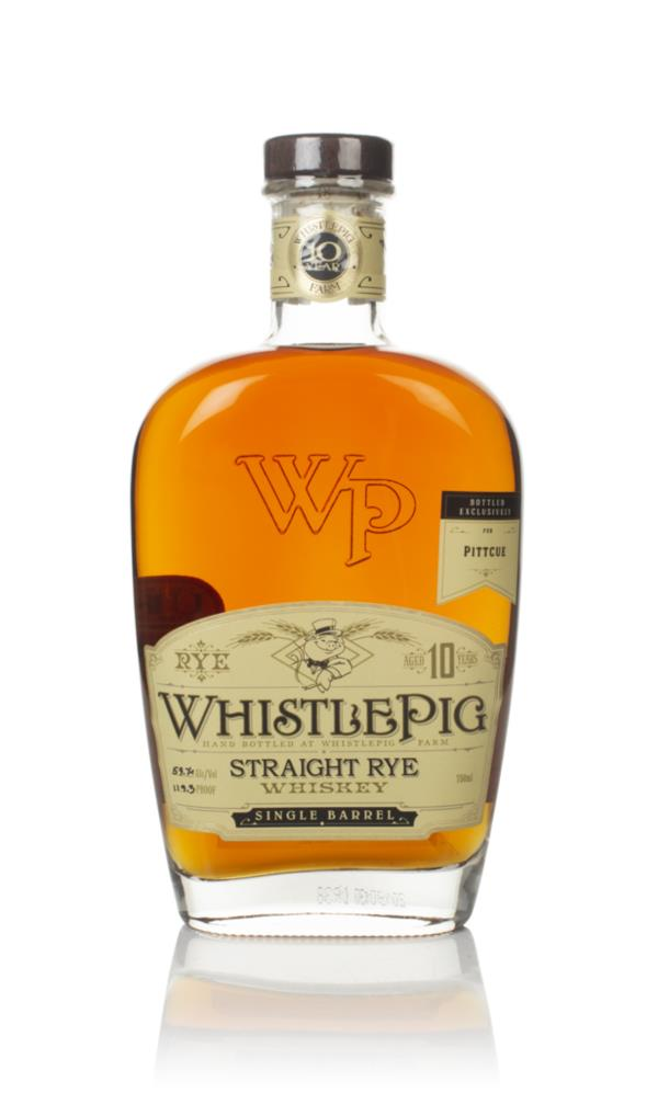 WhistlePig 10 Year Old - Pitt Cue Exclusive Rye Whiskey