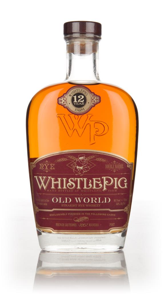 WhistlePig 12 Year Old Madeira Cask - Old World Series Rye Whiskey