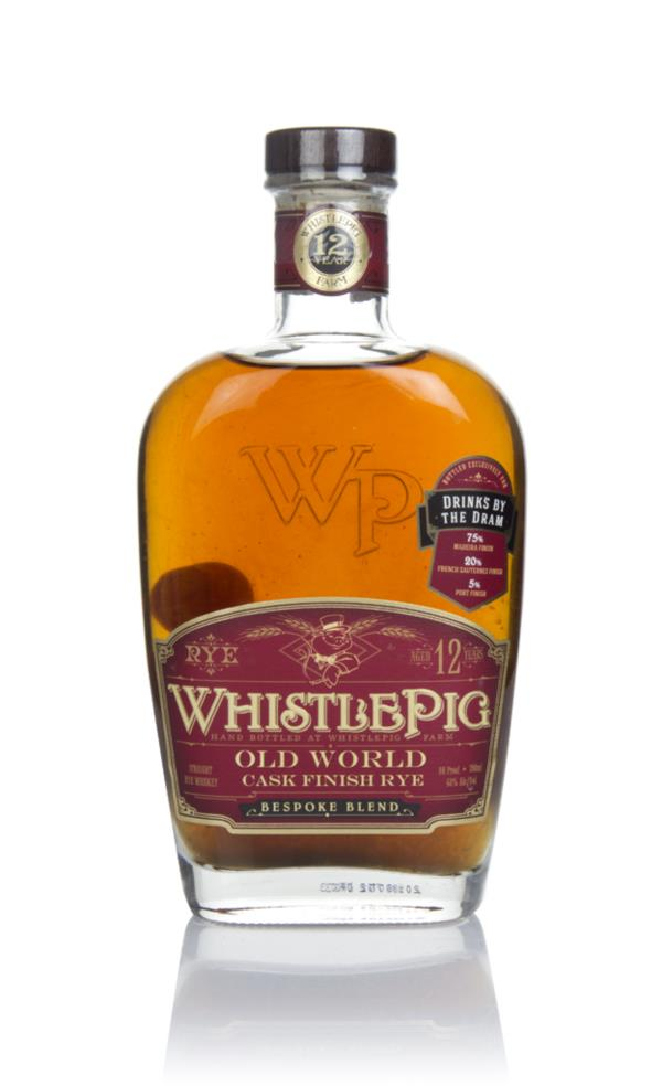 WhistlePig 12 Year Old - Old World (Drinks by the Dram) Rye Whiskey