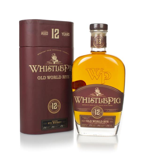 WhistlePig 12 Year Old - Old World Rye Whiskey