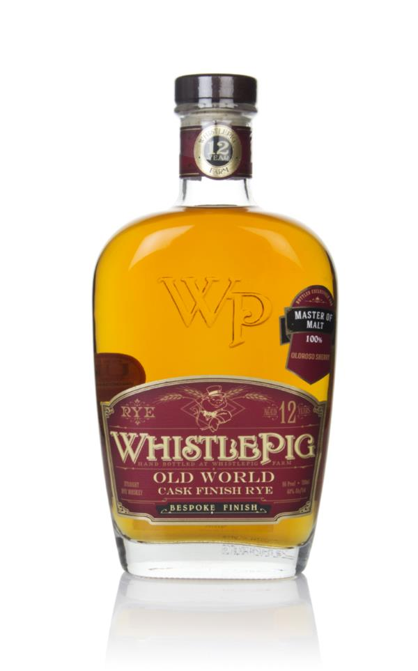 WhistlePig 12 Year Old Oloroso Cask - Old World (Master of Malt) 3cl S Rye Whiskey 3cl Sample