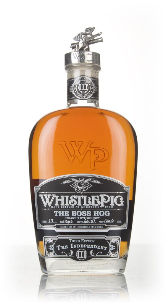 WhistlePig 14 Year Old - The Boss Hog 2016 Edition (cask 19) Rye Whiskey
