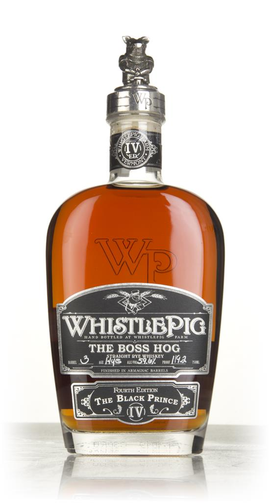WhistlePig 14 Year Old - The Boss Hog 2017 Edition (cask 3) Rye Whiskey