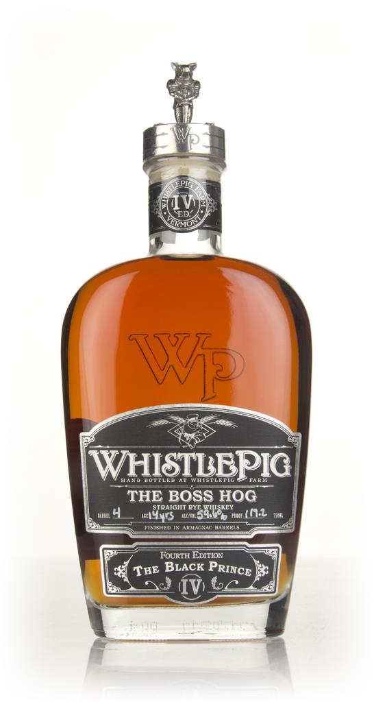 WhistlePig 14 Year Old - The Boss Hog 2017 Edition (cask 4) Rye Whiskey