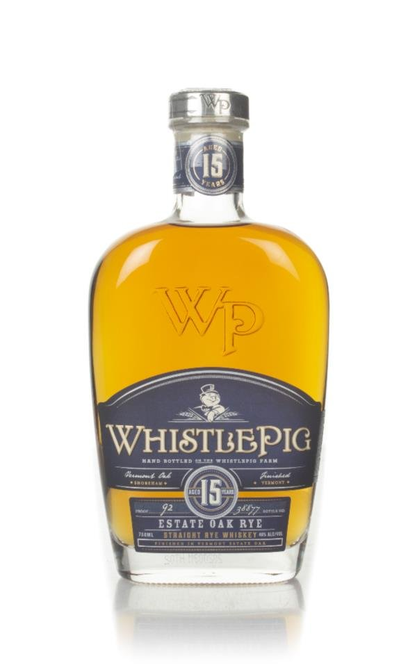 WhistlePig 15 Year Old Rye Whiskey