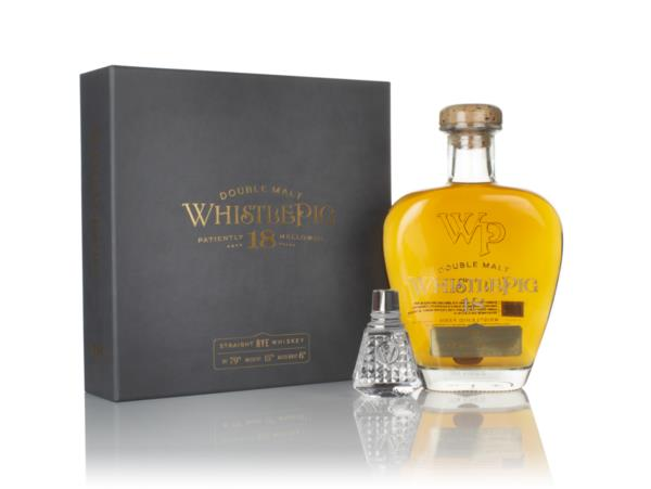 WhistlePig 18 Year Old Double Malt Rye Whiskey