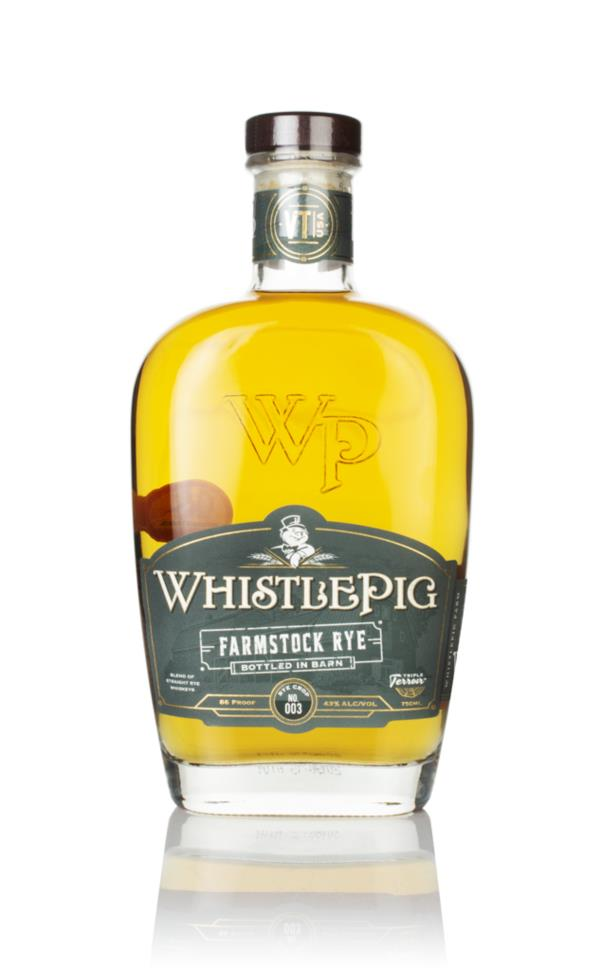 WhistlePig FarmStock Crop No.003 Rye Whiskey