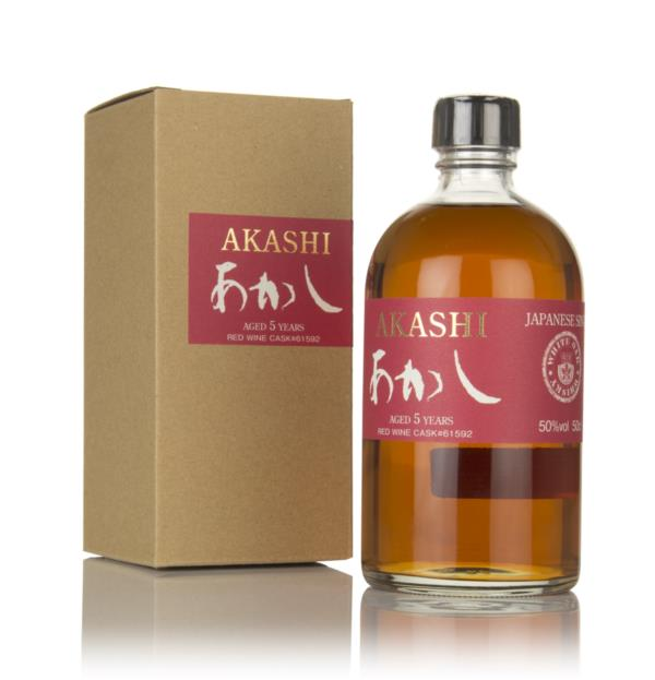 White Oak Akashi 5 Year Old Red Wine Cask Single Malt Whisky