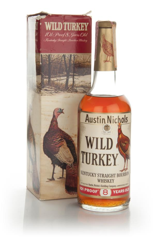 Wild Turkey 8 Year Old - 1970s 3cl Sample Bourbon Whiskey