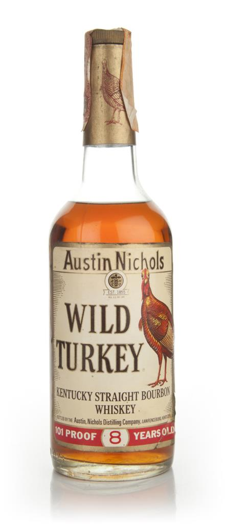 Wild Turkey 8 Year Old - 1979 3cl Sample Bourbon Whiskey