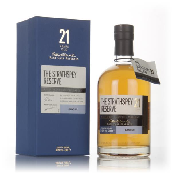The Strathspey Reserve 21 Year Old - Cancun Blended Whisky