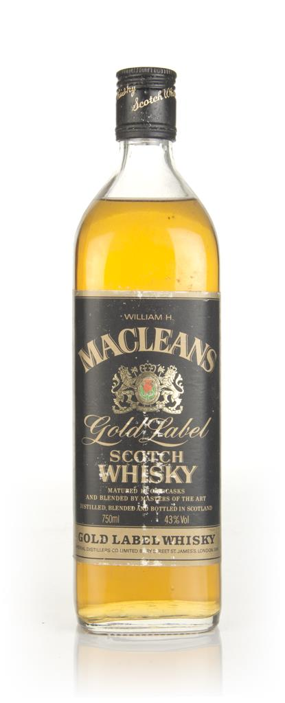 Macleans Gold Label - 1980s Blended Whisky