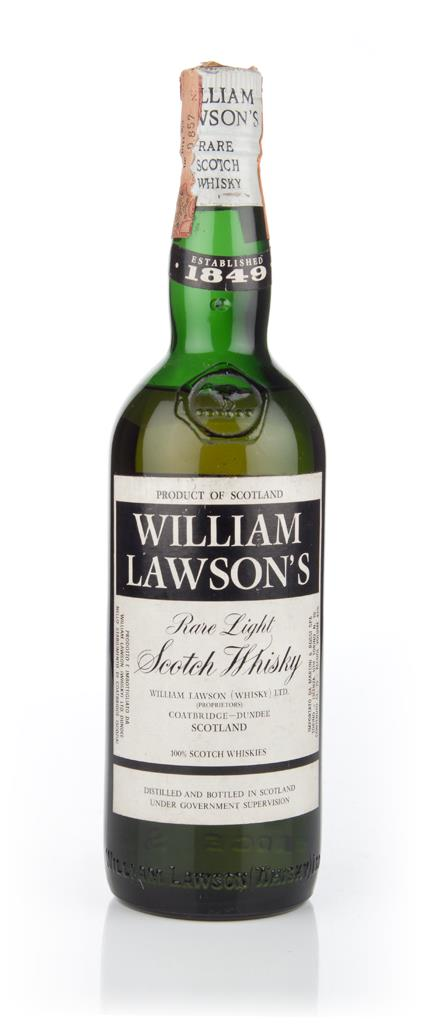 William Lawsons Blended Scotch Whisky - 1970s Blended Whisky