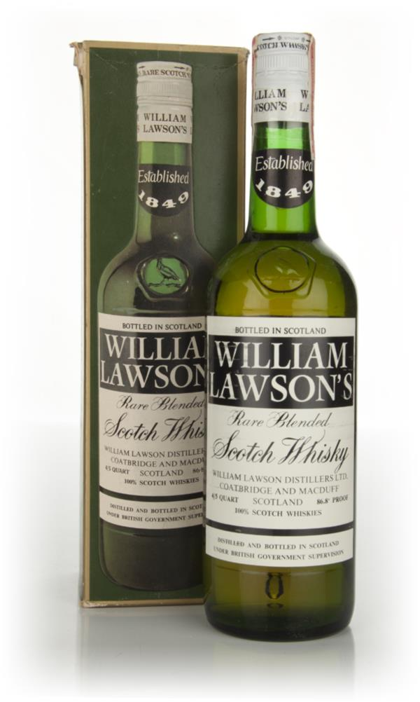 William Lawsons - 1970s (boxed) Blended Whisky