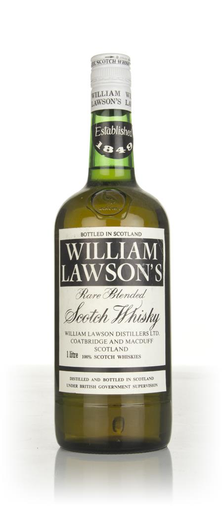 William Lawsons Blended Scotch Whisky (1L) - 1970s Blended Whisky