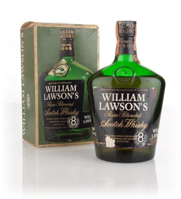 William Lawsons Rare 8 Year Old (with Box) - 1970s Blended Whisky