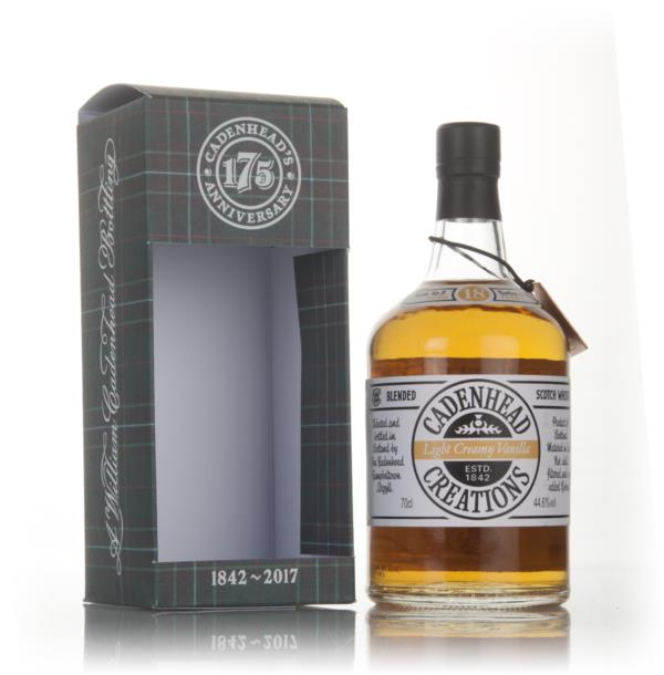 Light Creamy Vanilla 18 Year Old - Cadenhead Creations Blended Whisky