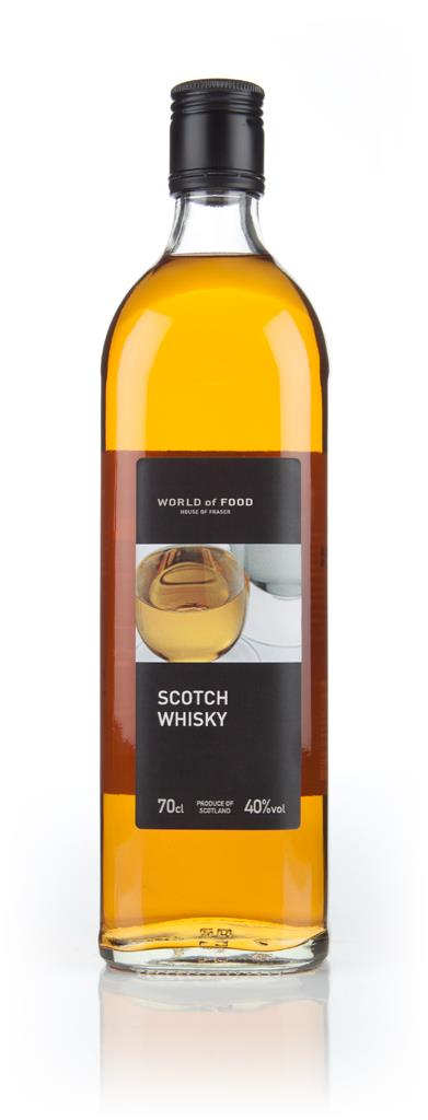 World of Food Scotch Whisky (House of Fraser) Blended Whisky