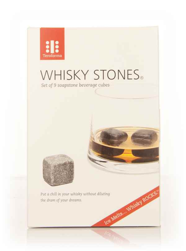 Whisky Stones (Set of 9 soapstone beverage cubes)