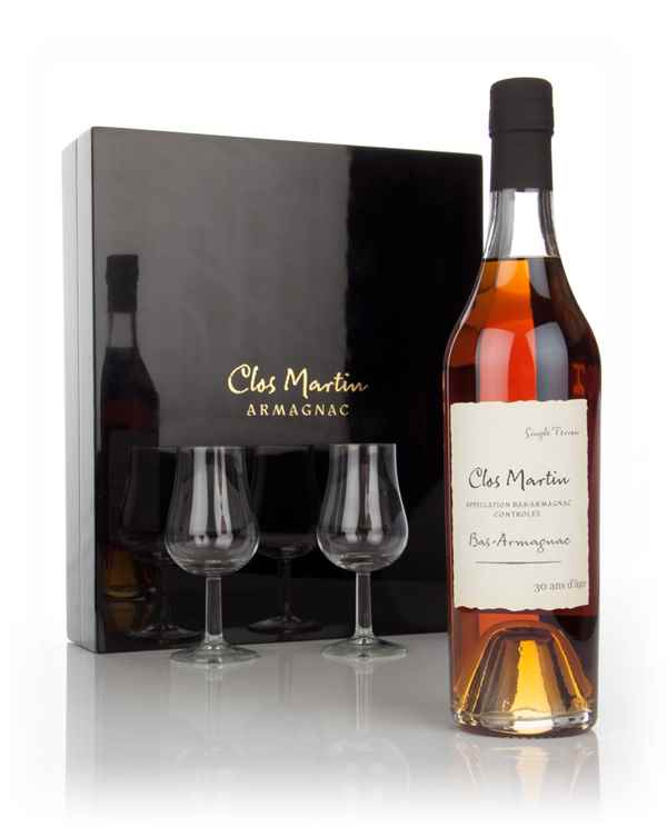 Clos Martin 30 Year Old Gift Pack with 2x Glasses