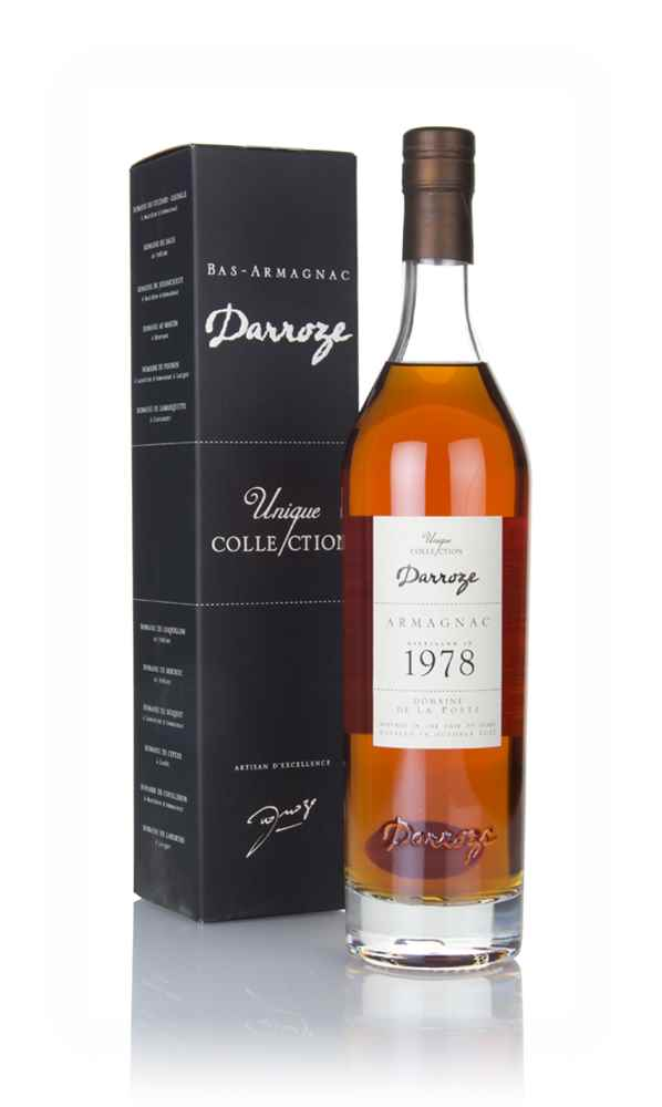 Darroze 39 Year Old 1978 Domaine La Poste - Unique Collection