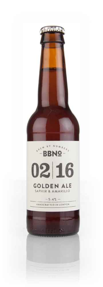 Brew By Numbers 02|16 Golden Ale Saphir & Amarillo