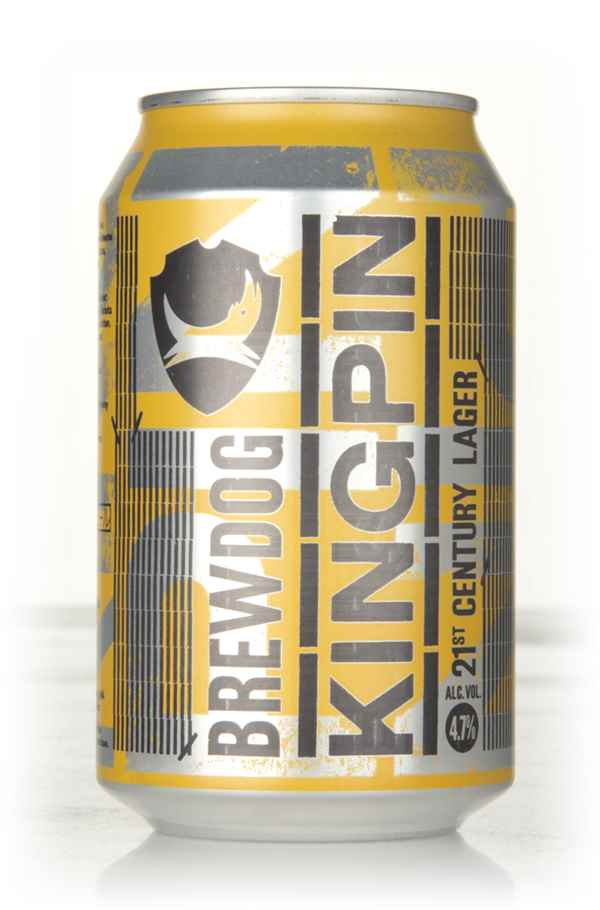 Brewdog Kingpin Lager Can