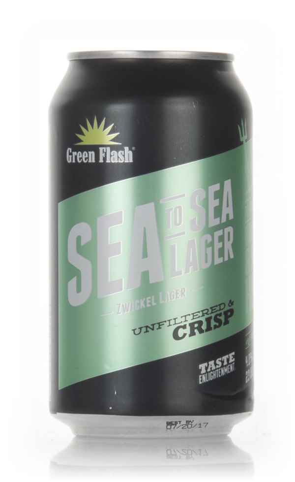 Green Flash Sea To Sea Lager (after Best Before Date)