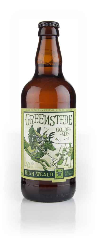 High Weald Greenstede Golden Ale