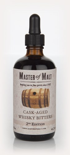 Master of Malt Cask-Aged Whisky Bitters 2nd Edition 10cl