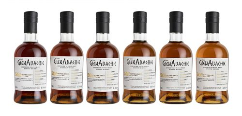GlenAllachie bottlings