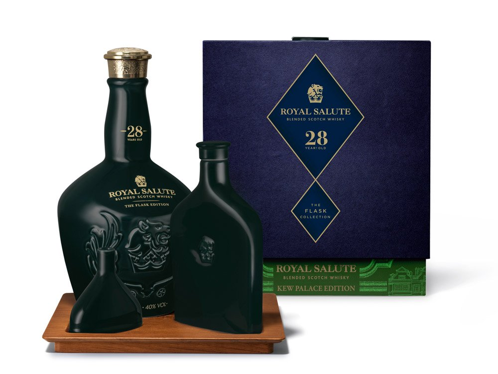 Royal Salute 28 Year Old Flask Collection - Kew Palace Edition