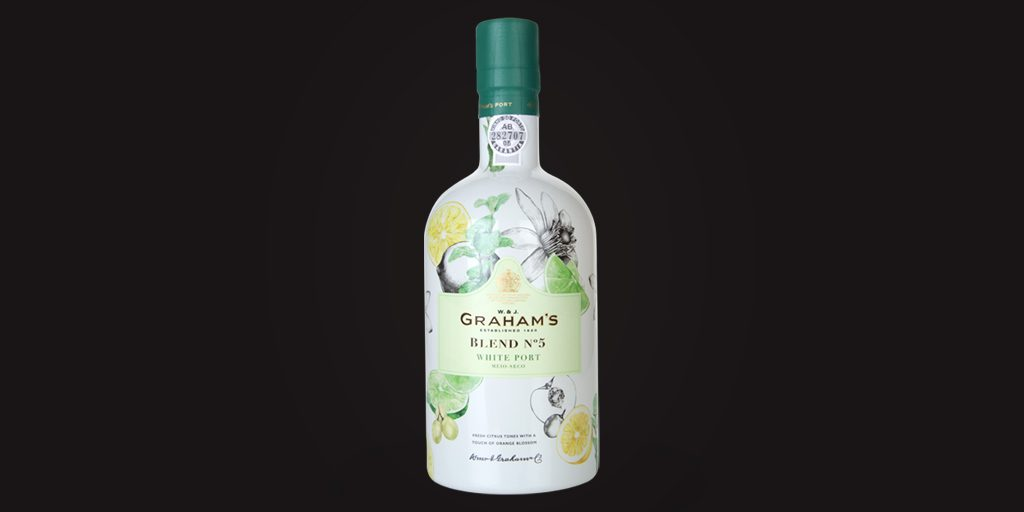 New arrival of the week: Graham's Blend No. 5 white Port