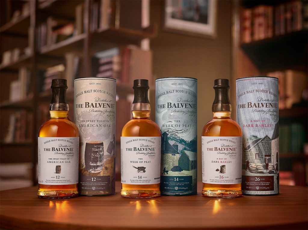 The Balvenie Stories launches with three special whiskies