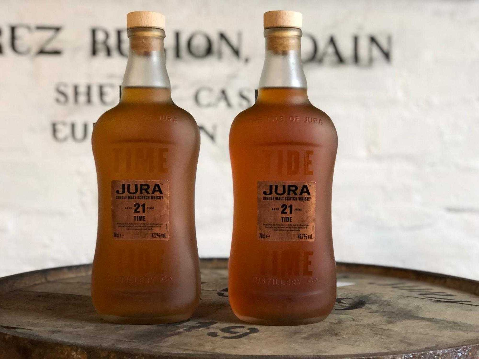 Jura Time Tide whisky