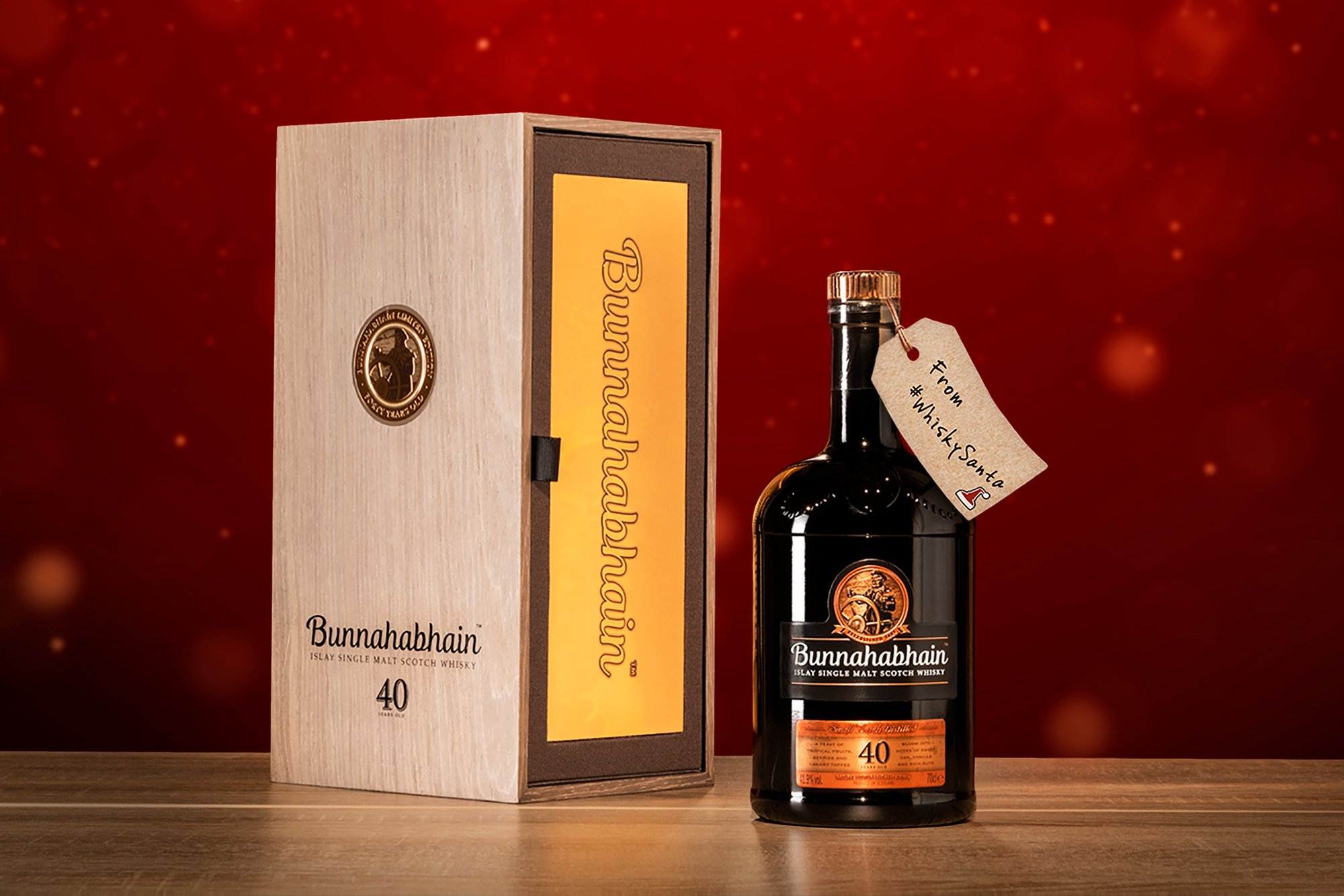 Bunnahabhain 40 Year Old #WhiskySanta