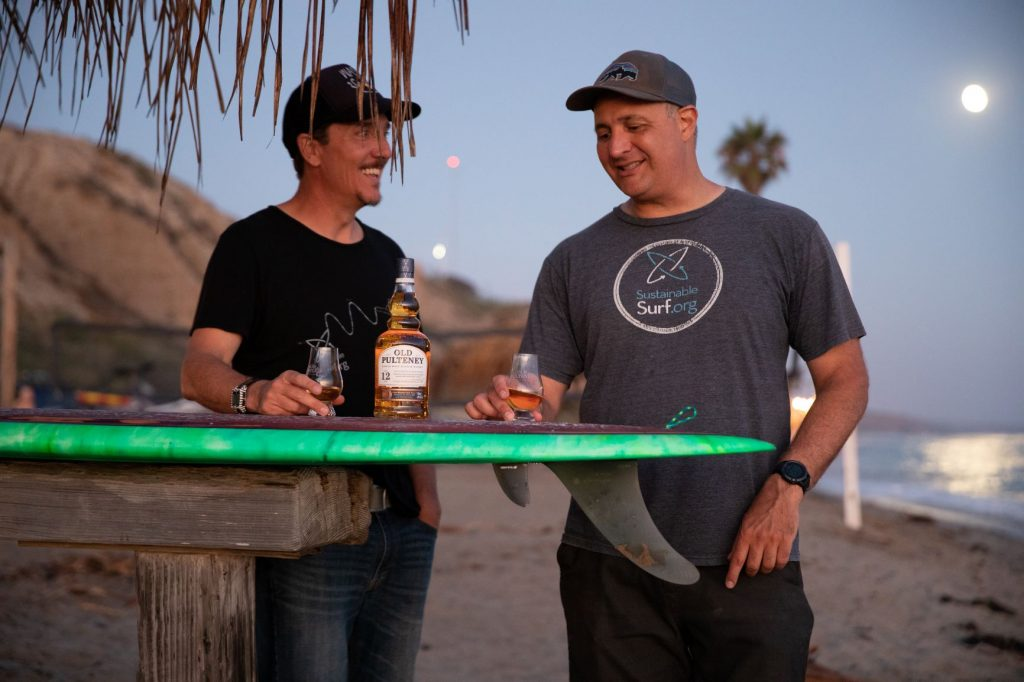 Sustainable Surf x Old Pulteney - Rise With The Tide