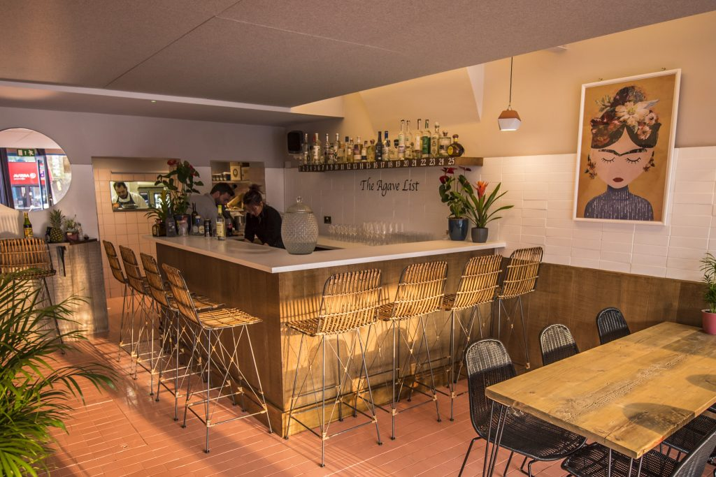 Hacha agave bar in London