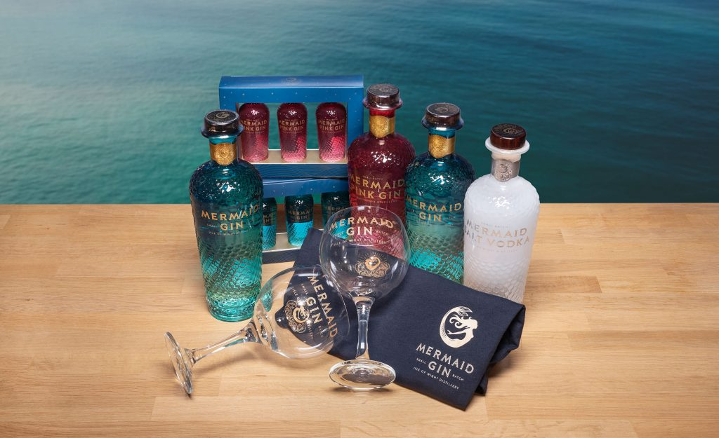 win a bundle from Mermaid Gin