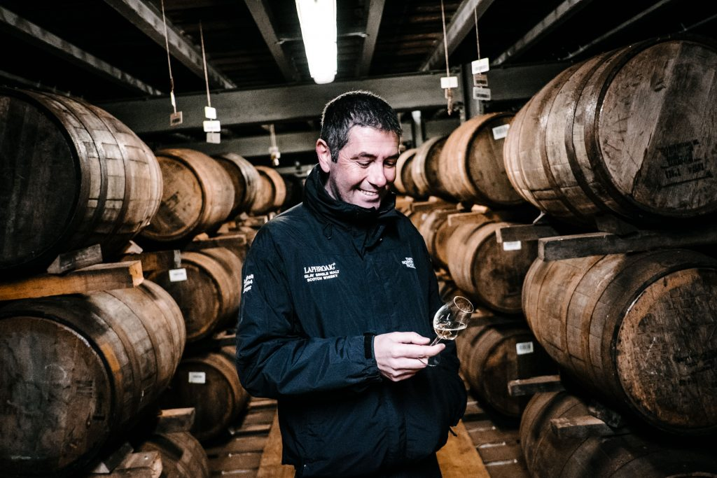 It's John Campbell from Laphroaig