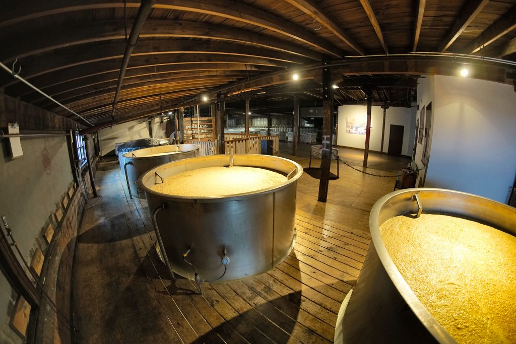 Sweet mash fermentation is key to creating the character of Peerless Whiskey